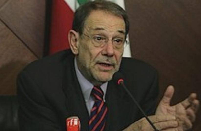 solana speaks in Lebanon 248.88 (photo credit: AP)
