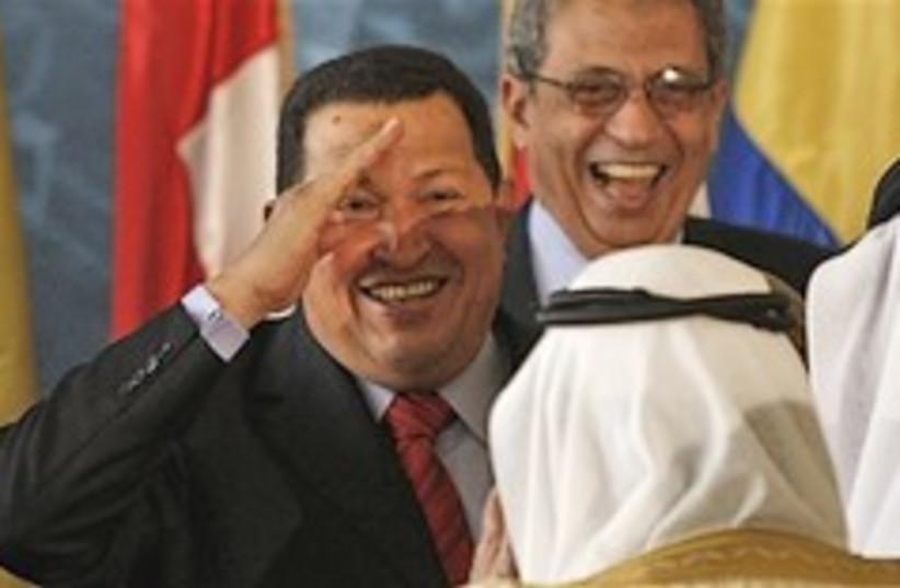 chavez Arab summit 248.88 (photo credit: AP)