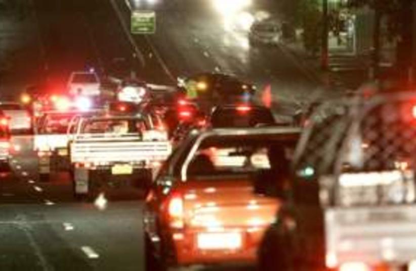 sydney roadblock 298ap (photo credit: )