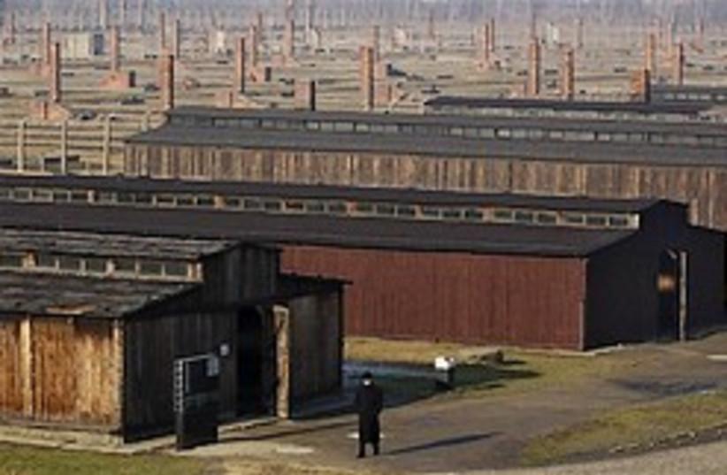 Auschwitz holocaust barracks 248.88 ap (photo credit: AP)