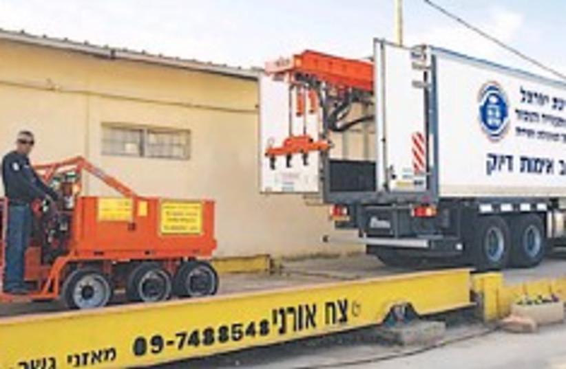 weight truck 248 (photo credit: Dima Vallerstein)