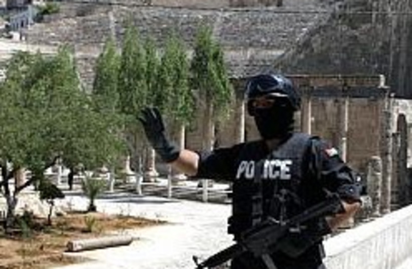 Jordanian policeman 248 88 (photo credit: AP [file])