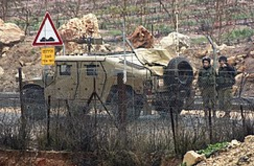 IDF on Lebanese border 248.88 (photo credit: AP)