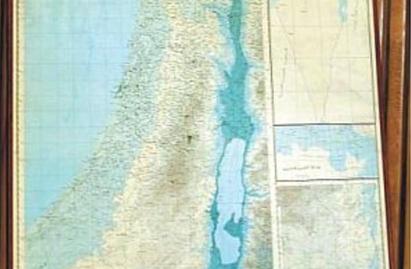 map without israel 298 (photo credit: Courtesy photo)