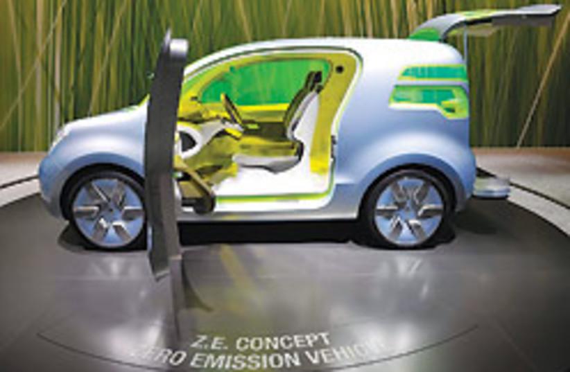 GM electric car 88 248 (photo credit: )