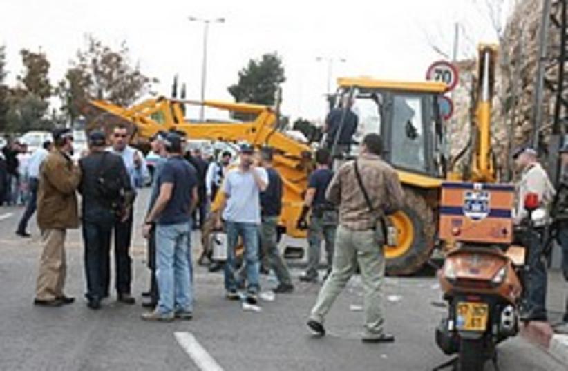 malha terror attack bulldozer 248 88 (photo credit: ZAKA)