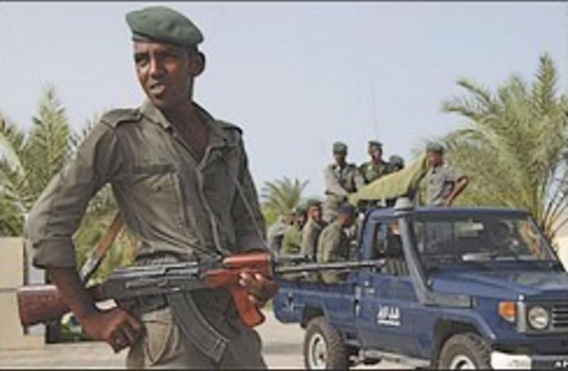 Mauritanian soldier 248.88 (photo credit: AP [file])
