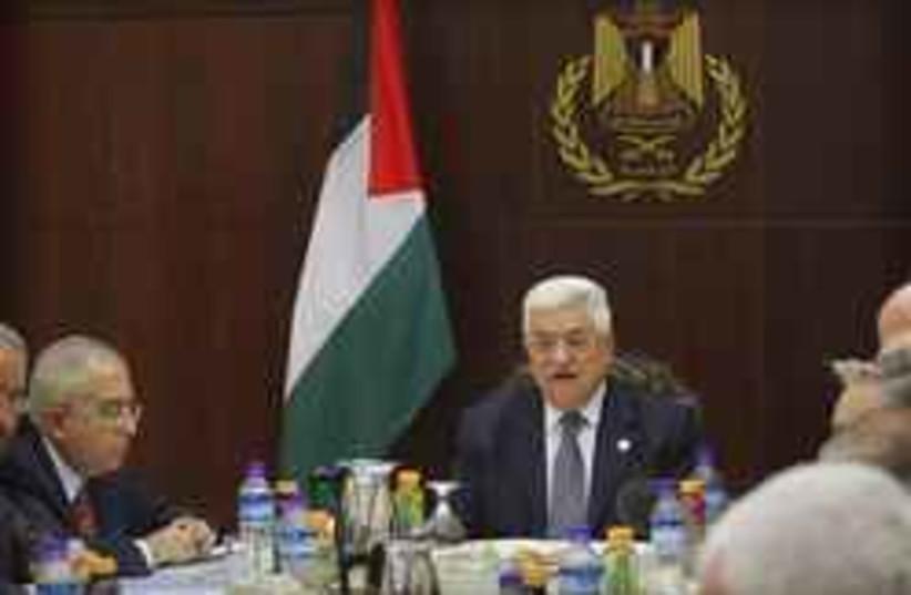 fayad and abbas (photo credit: AP [file])
