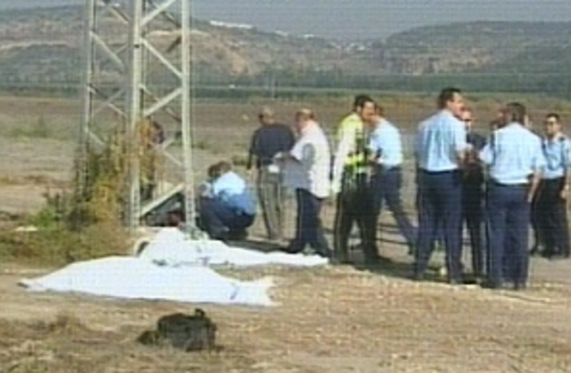corpses 298 (photo credit: Channel 2)