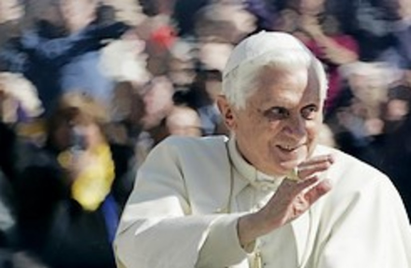 pope benedict wassup guys 248 88 (photo credit: AP [file])