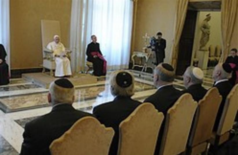 vatican jews pope 248 88 ap (photo credit: )