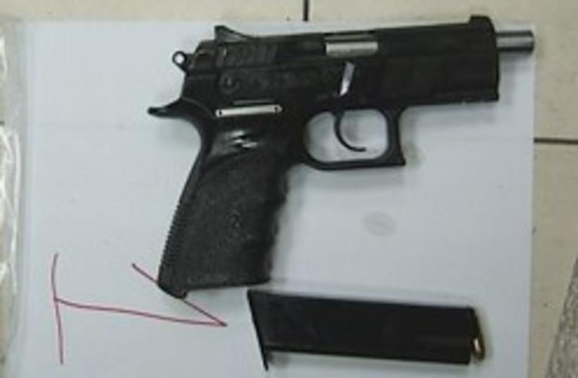 gun and ammo 248.88 (photo credit: Israel Police )