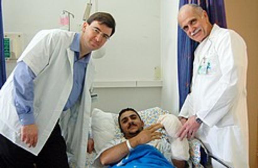 Fadel Badarin 248 88 (photo credit: Courtesy of Kaplan Medical Center)