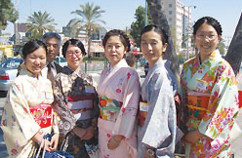 Japanese girls 88 248 (photo credit: Yocheved Miriam Russo)