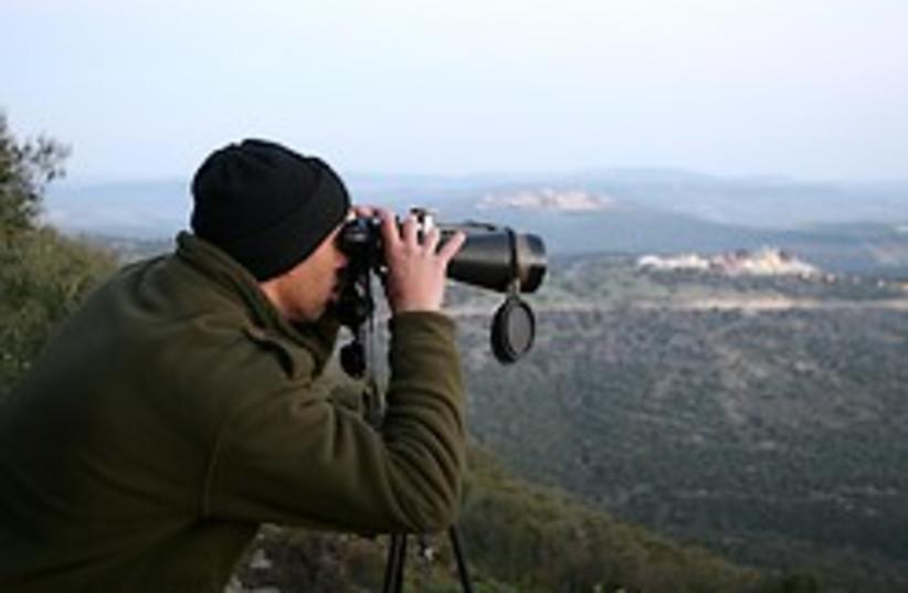 police lebanon border drug smuggling (photo credit: Ariel Jerozolimski)
