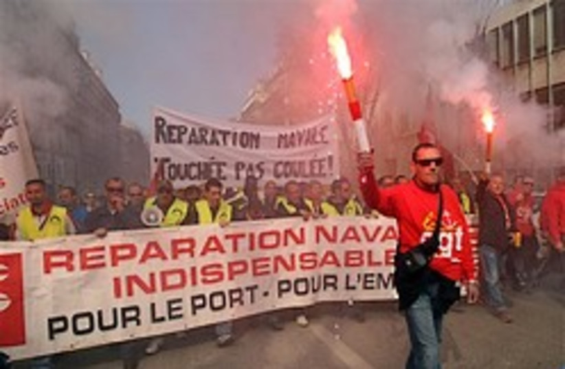 france protest economy 248 88 ap (photo credit: )