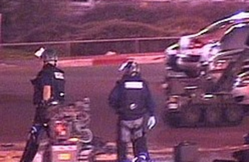 police sappers haifa thwarted attack 248 (photo credit: Channel 10)