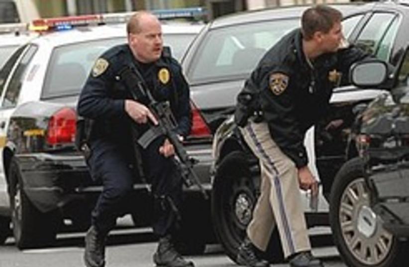 US police shootings 248.88 (photo credit: AP)