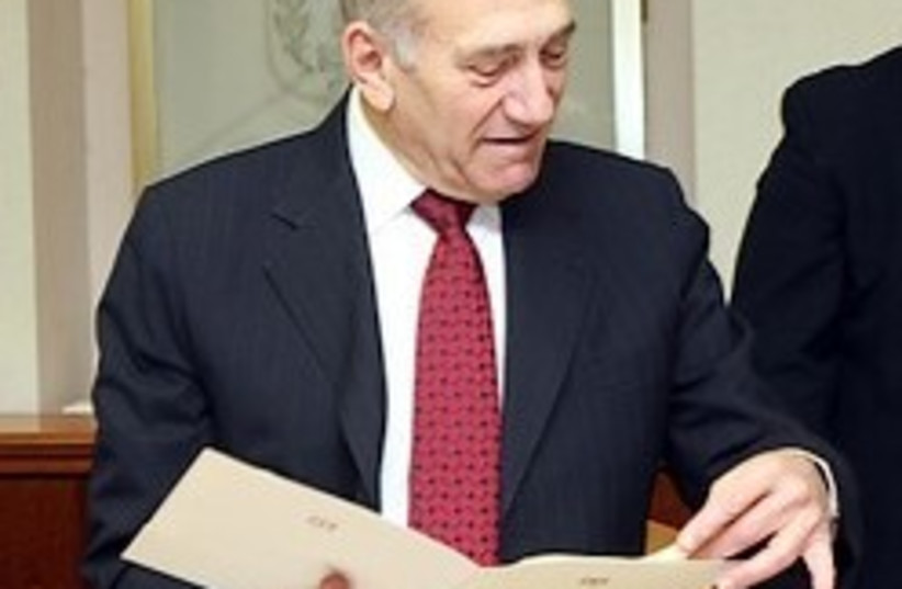 olmert cabinet pleased 248.88 (photo credit: Ariel Jerozolimski  [file])