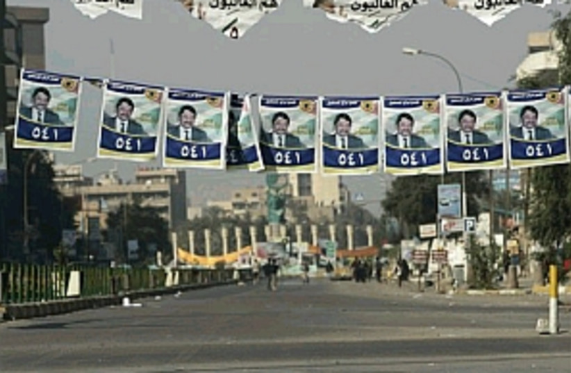 iraqi elections 298.88 (photo credit: AP)
