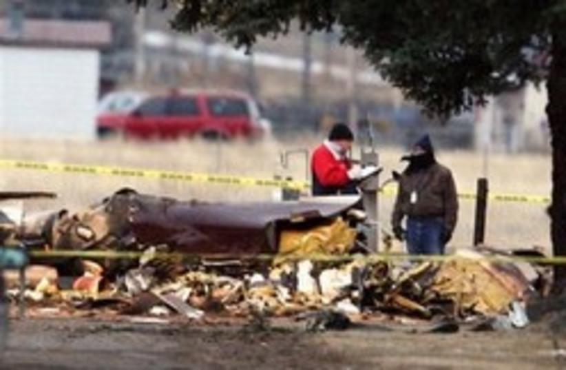plane crash montana (photo credit: AP)