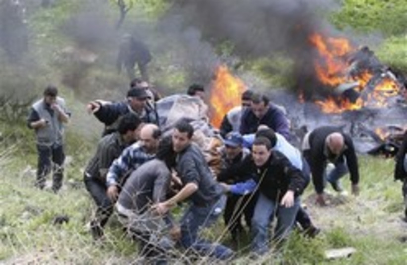 palestinian leader bomb lebanon (photo credit: AP)