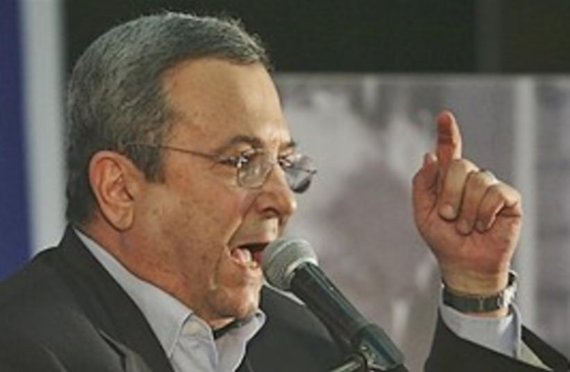 Barak goes mad 298 (photo credit: AP)