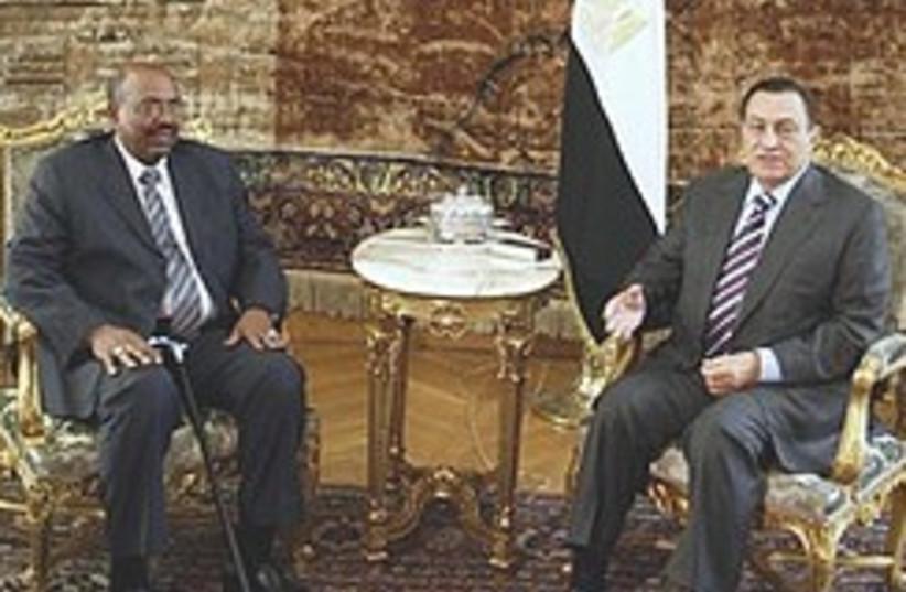 Bashir and Mubarak 248.88 (photo credit: AP)