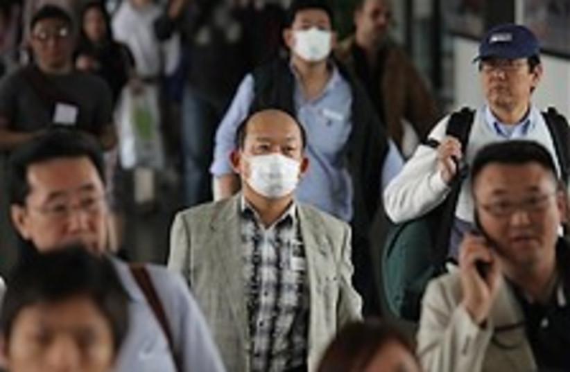 swine flu outbreak (photo credit: AP)