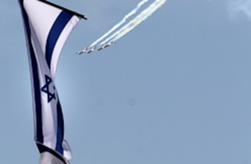 IAF independence day 248 (photo credit: Ariel Jerozolimski)