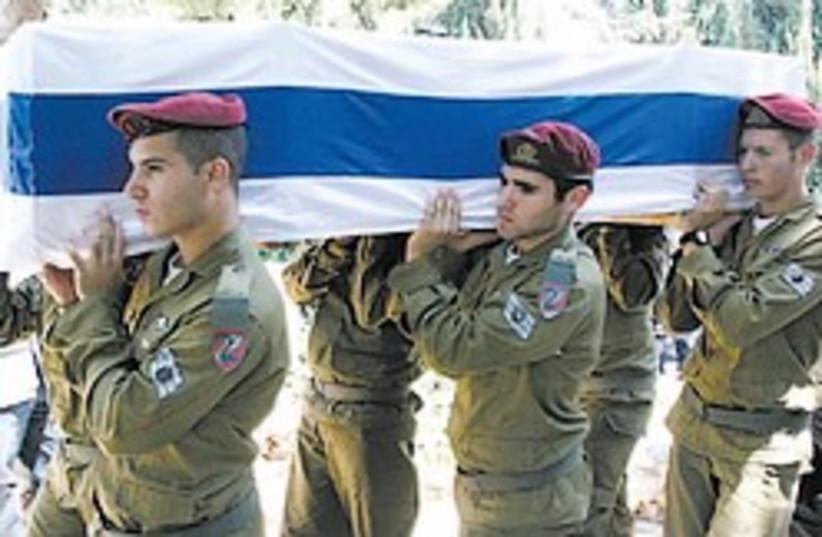 IDF coffin 88 248 (photo credit: Ariel Jerozolimski)