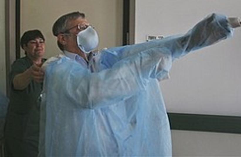 swine flu Netanya 248.88 (photo credit: AP)