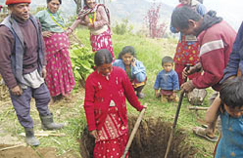 nepali women 248 88 (photo credit: Courtesy)