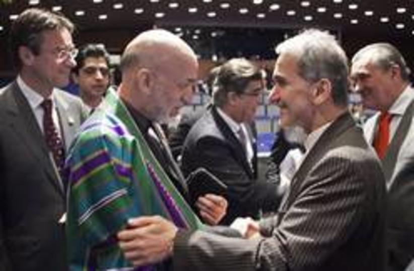 Iran Deputy FM Mohammad Mehdi Akhondzad (photo credit: AP)
