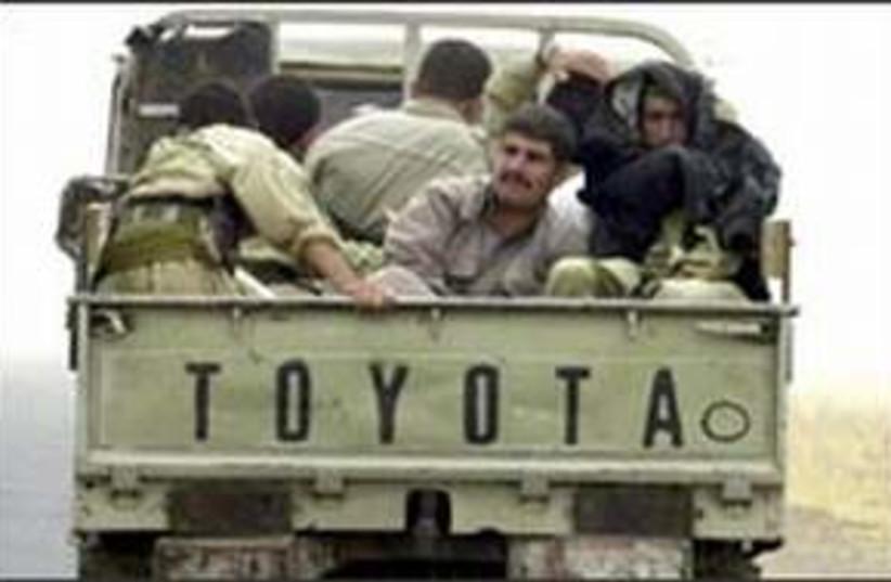 kurdish militia 298 ap (photo credit: )