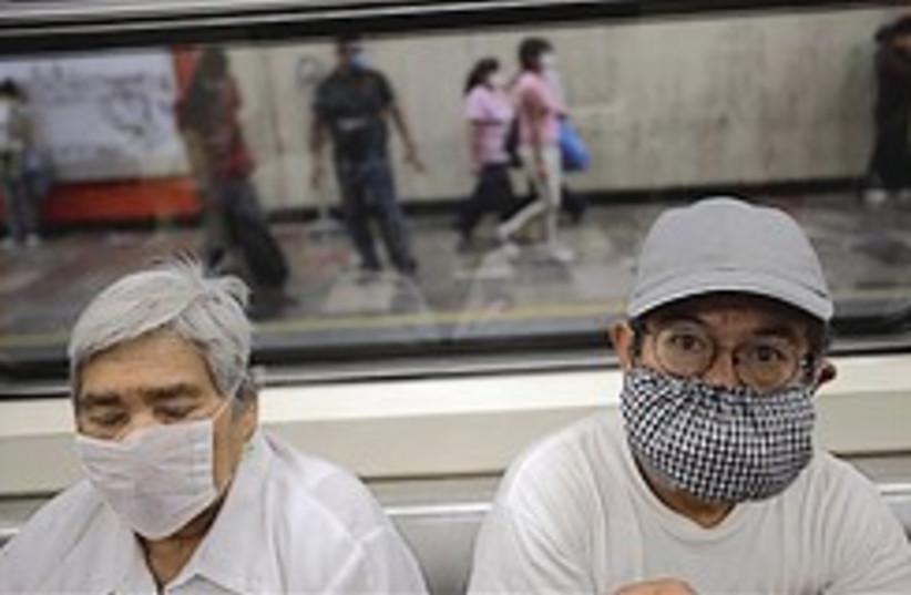 Mexico swine flu masks 248.88 (photo credit: AP)