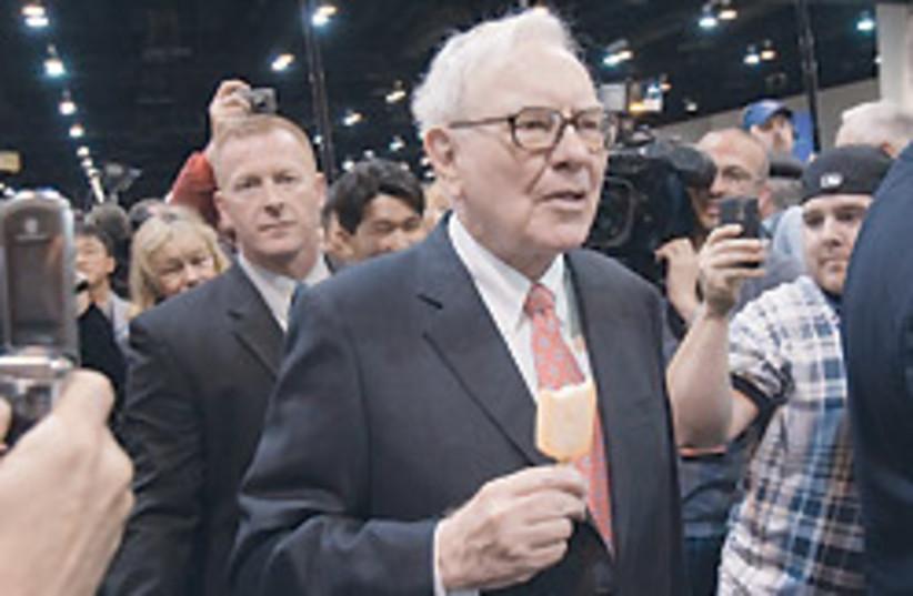 Warren Buffet good 88 248 (photo credit: )