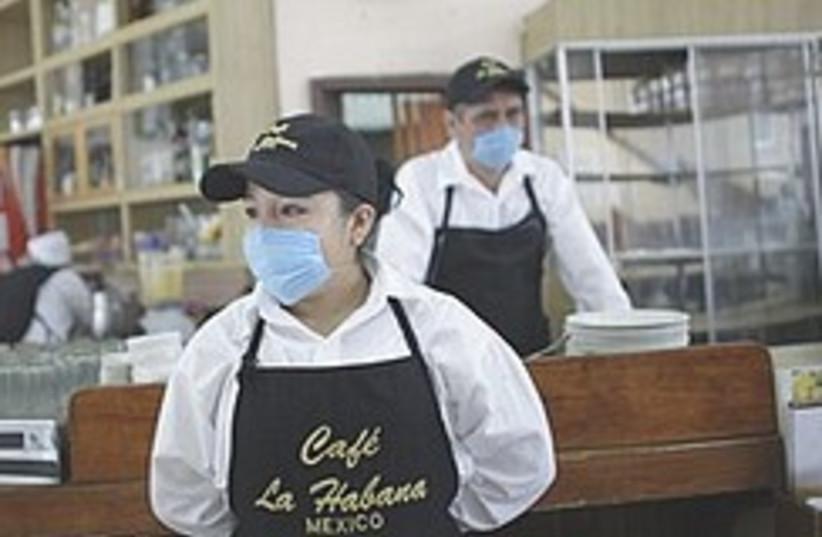 flu mexico 248.88 (photo credit: AP)