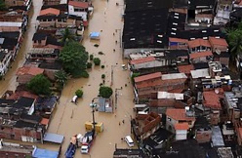 brazil flood salvador 248 88 (photo credit: )