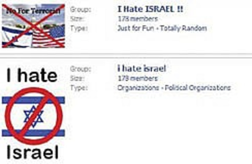 hate israel facebook 248.88 (photo credit: Courtesy)