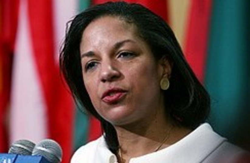 Susan Rice 248.88 (photo credit: AP)
