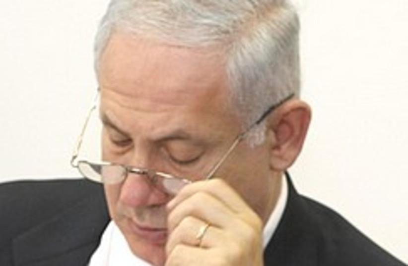Netanyahu under pressure 248.88 (photo credit: Ariel Jerozolimski)
