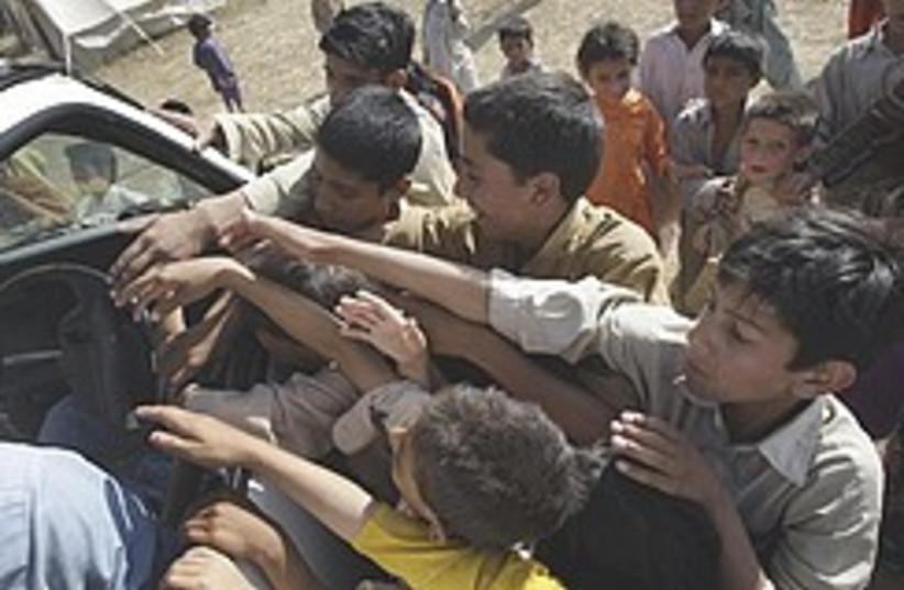 Pakistan kids 248.88 (photo credit: AP)