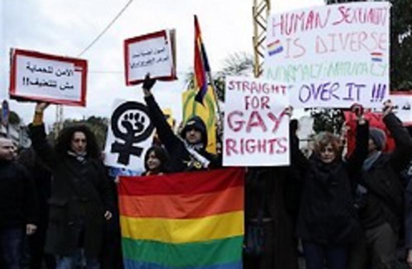 gay rights lebanon 248.88 (photo credit: AP)