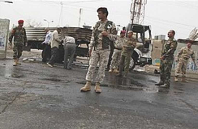 Iraqi security forces  248.88 (photo credit: AP)