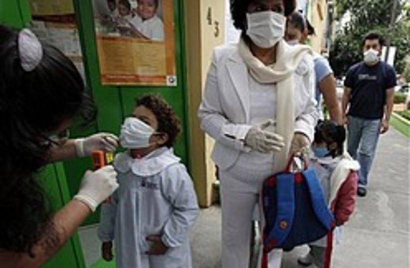 swine flu mexico school 248 88 ap (photo credit: AP)