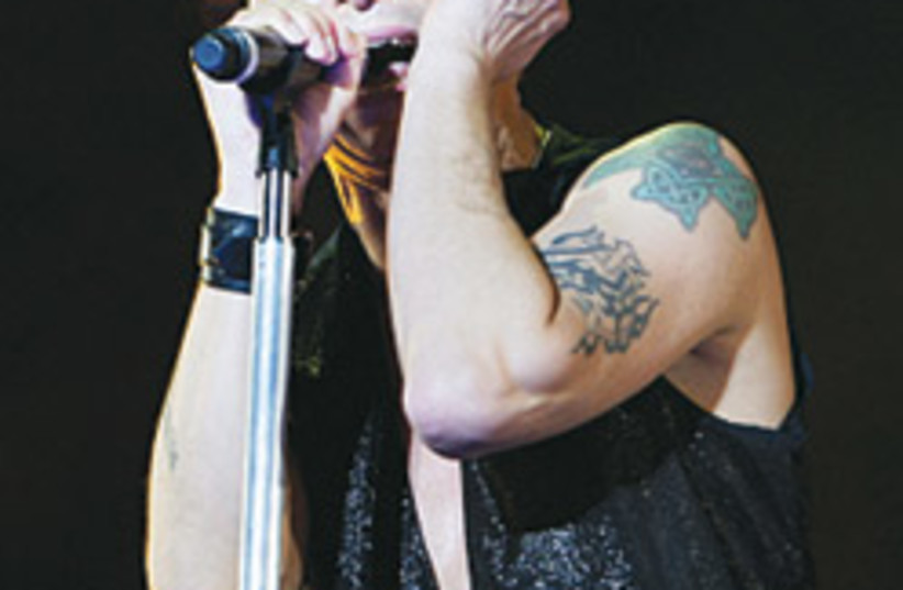 Depeche Mode Dave Gahan 88 248 (photo credit: )