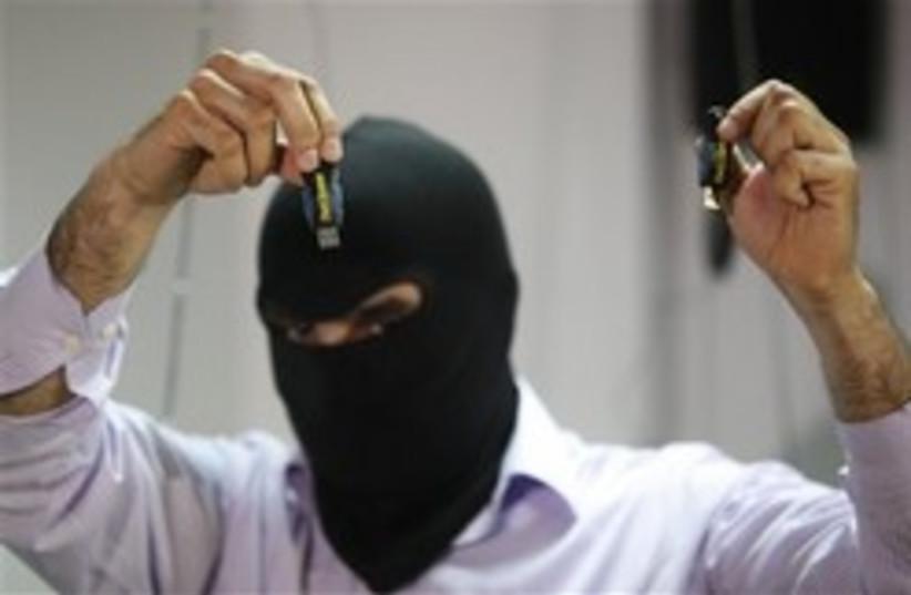 masked labanese police 248.88 (photo credit: AP)