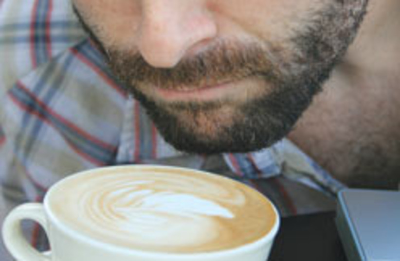 Ari Miller coffee 248 (photo credit: Hannah Weitzer)