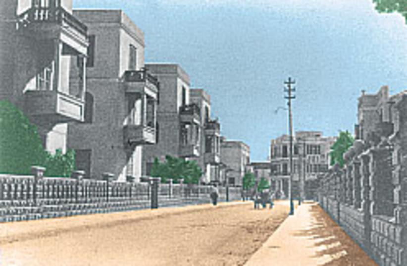 Rehov Yehuda Halevi 88 248 (photo credit: Digitally enhanced photo; Jerusalem Post Archives)